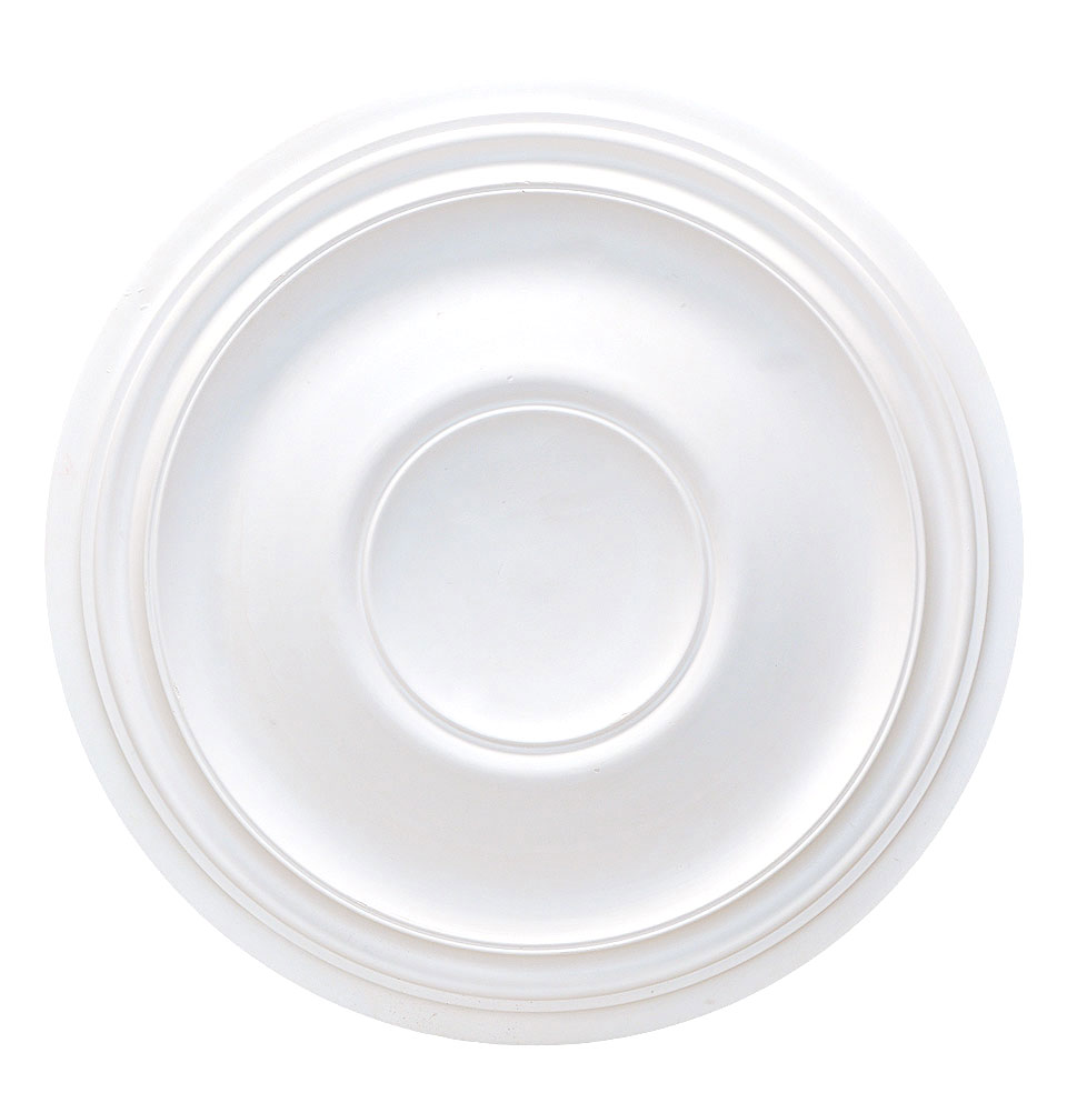 24 Deep Plaster Ceiling Rose 610mm